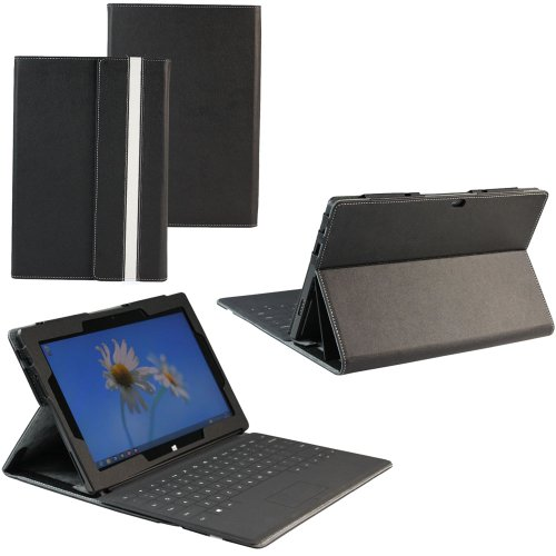 KHOMO ® Leather Case For Microsoft Surface RT