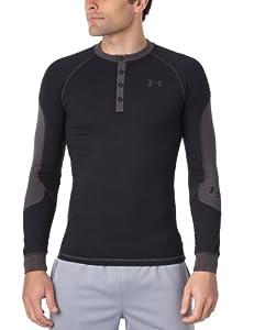 Under Armour   UA CG Catalyst Fitted Henley T-shirt homme Noir S