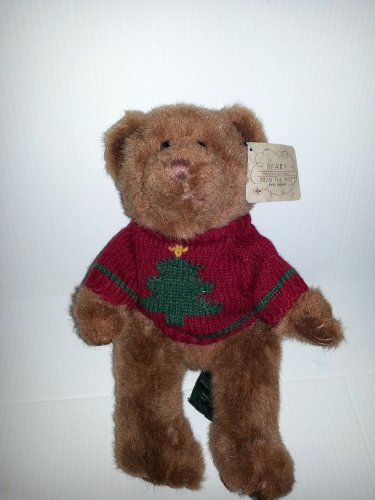 Russ Bears From the Past - Teddy Bear in Christmas Sweater - 1