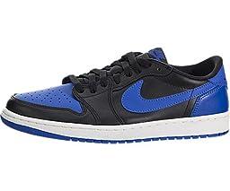 Nike Air Jordan 1 Retro Low OG Mens Basketball Shoes (10 D(M) US, Black/Varsity Royal/Sail)