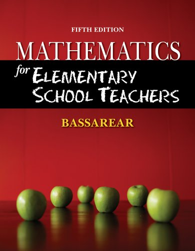 Bundle: Mathematics For Elementary School Teachers, 5Th + Enhanced Webassign - Start Smart Guide For Students + Enhanced Webassign Homework With Ebook Printed Access Card For One Term Math And Science front-993118