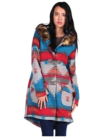 BB DAKOTA Womens Koa Coat - Taupe - Large