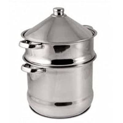 Baumalu 340971 Couscous Maker With Tagine 14 L Stainless Steel by Baumalu