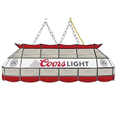 Coors Light Handmade Tiffany Style Lamp - 40 Inch