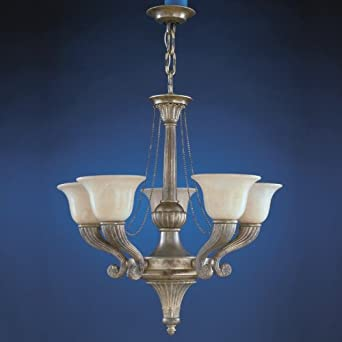 Sevilla 5 Light Chandelier In Ancient Silver Finish Lighting Products Home Improvement Holiday Deals Hoangnam20082