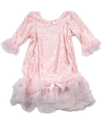 Laura Dare Pink Sheer/Nylon Ruffle L/S Gown - Buy Laura Dare Pink Sheer/Nylon Ruffle L/S Gown - Purchase Laura Dare Pink Sheer/Nylon Ruffle L/S Gown (Laura Dare, Laura Dare Apparel, Laura Dare Toddler Girls Apparel, Apparel, Departments, Kids & Baby, Infants & Toddlers, Girls, Skirts, Dresses & Jumpers, Dresses)