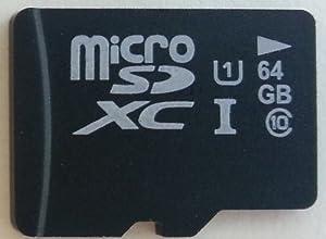 Komputerbay 64GB Class 10 UHS-1 microSDXC carte mémoire Pro Grade 1 70 Mo/s en utilisant Samsung NAND avec Komputerbay adaptateur SD