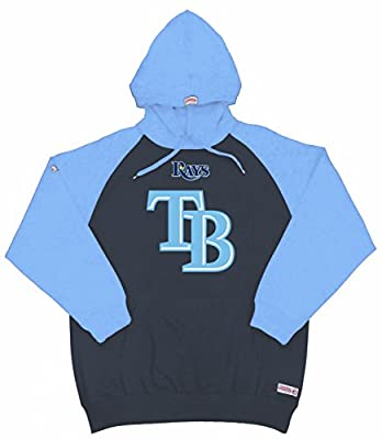 MLB Tampa Bay Rays Youth Big Logo Pullover Hood