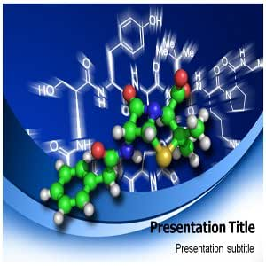 Chemical Formula PowerPoint Template - PowerPoint Templates on Team Building