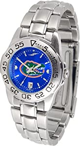 Florida Gators Ladies Anochrome Watch (Stainless Steel) by SunTime