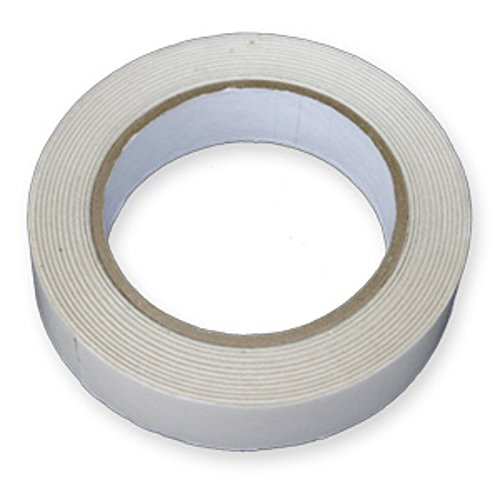 2-rolls-of-25mm-double-sided-sticky-tape-1-inch-wide-x-50-metres-per-roll-25mm-x-50m-diy-art-craft-m