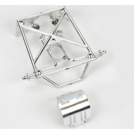 Rear Roll Cage Set, Chrome: Mini-DT