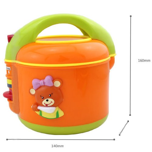 Kids Play House Toy Role Play Emulational Kitchen Household Appliances Small Magic Kitchen Electric Cooker