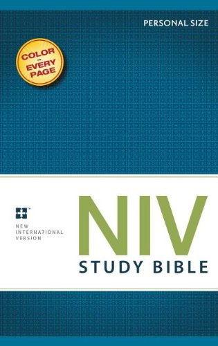 NIV Study Bible, Personal Size: Zondervan: 9780310437338: Amazon.com: Books