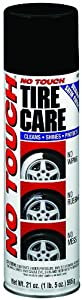 No Touch NT21-6 Aerosol Tire Care Spray, 21 Oz