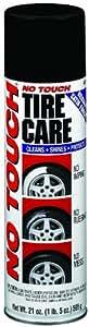 No Touch NT21-6 Aerosol Tire Care Spray, 21 Oz