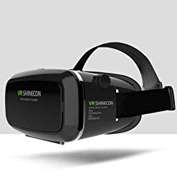 VR Glasses/ Headset - Inspired by Google Cardboard and Oculus Rift - Virtual Reality Gear - Best Selling for K4 Note Lenovo, iPhone, Android Phones