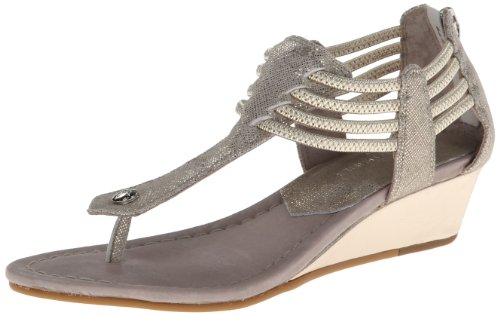 Donald J Pliner Women's Dyna2 Wedge Sandal,Bronze/Platino,6.5 M US