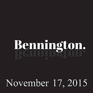 Bennington, November 17, 2015 Radio/TV Program
