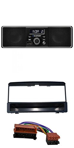 Blaupunkt-MP3-USB-AUX-Autoradio-fr-Ford-Mazda-Jaguar-schwarz-mit-Ablagefach