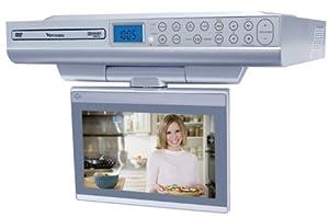 Venturer KLV39082 8-Inch Undercabinet Kitchen LCD TV/DVD Combo