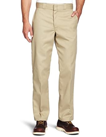 Dickies Men's Original 874 Work Pant, Khaki, 26x28