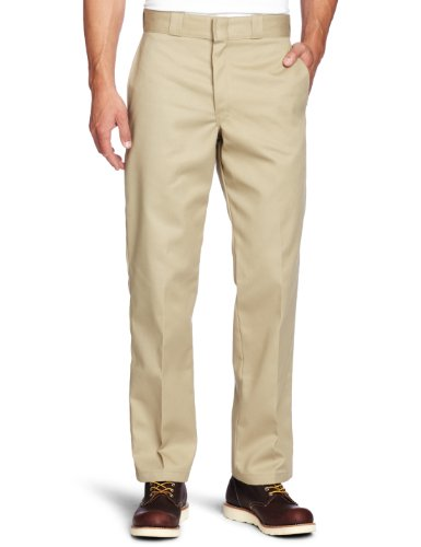 Dickies Mens Original 874 Work Pant, Khaki, 34x32