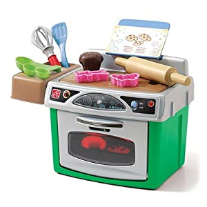 Discount step2 my own baking oven toy kitchen sets toys for Kitchen set game