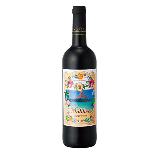 [モルディブお土産] モルディブ 赤ワイン 1本 (海外 みやげ モルディブ 土産)
