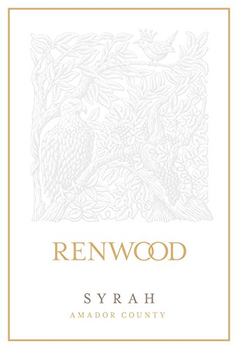 2011 Renwood Syrah Amador County 750 Ml