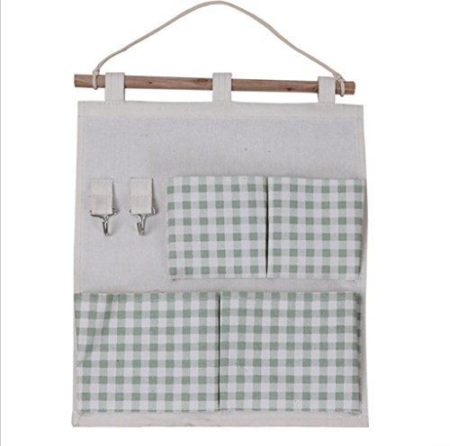 GYMNLJY Prodotti per la casa Oxford panno 4 griglia appendere il borsa gancio parete Storage Multi-Purpose Storage Box , b