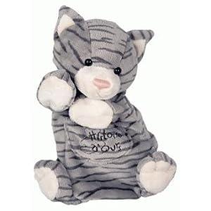 Histoire d'ours HO1169 - Marioneta de gato atigrado marca Histoire d'ours - BebeHogar.com