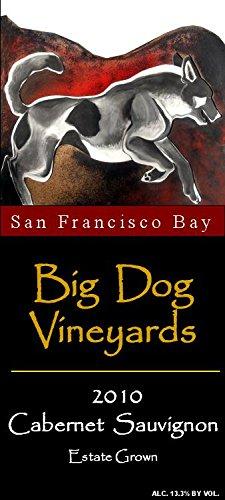 2010 Big Dog Vineyards San Francisco Bay Estate Grown Cabernet Sauvignon 750 Ml