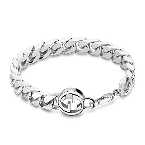 GUCCI BRACCIALE GROUMETTE INTERLOCKING YBA356263001020