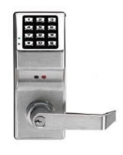 Alarm Lock Systems Inc. Dl4100 Us26D Trilogy Electronic Digital Lock Std Ko 26D, Satin Chrome