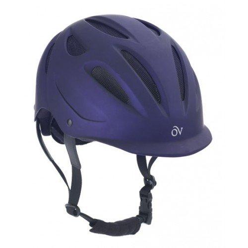 ovation metallic protege helmet metallic purple xs s sporting goods outdoor recreation. Black Bedroom Furniture Sets. Home Design Ideas