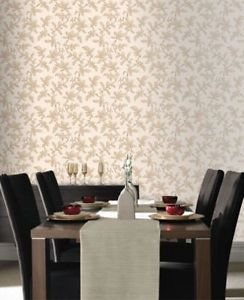 Premier Sarra Wallpaper - Gold from New A-Brend