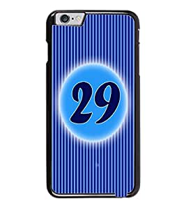 PrintDhaba Numerology Number 29 D-2588 Back Case Cover for APPLE IPHONE 6 (Multi-Coloured)