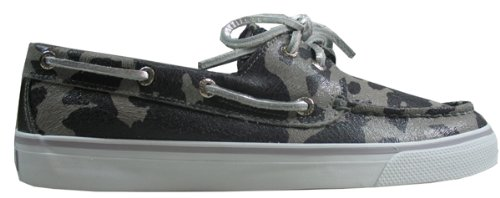 Sperry Top-Sider Women's Bahama 2-Eye Cheetah Deck Shoes,Marble Cheetah,8.5 M US