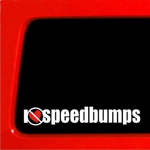 I heart Speedbumps Hate slammed VIP STance Vinyl Decal JDM Honda Sticker (Slammed Decal compare prices)