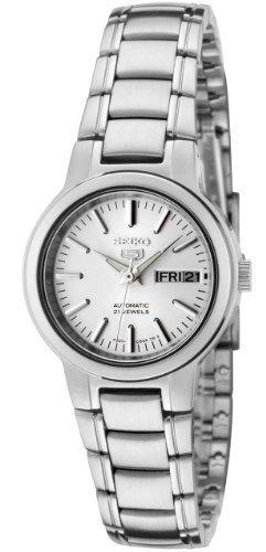 Seiko-Women-s-SYME39K1-Seiko-5-Automatic-Light-Silver-Dial-Stainless-Steel-Watch