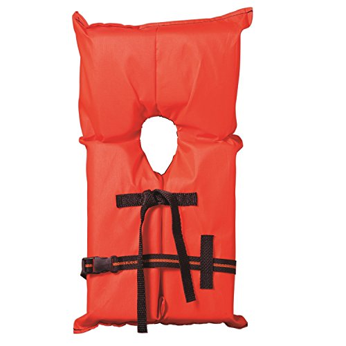 Kent Youth Compliance PFD Type II Life Jacket (Medium, Orange)