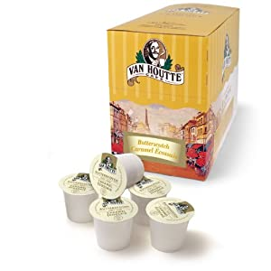 Van Houtte Butterscotch Light K-Cups for Keurig Brewers, 24-Count K-Cups