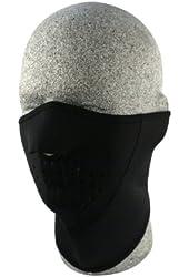ZANheadgear Neoprene 3-Panel Half Mask (Black)