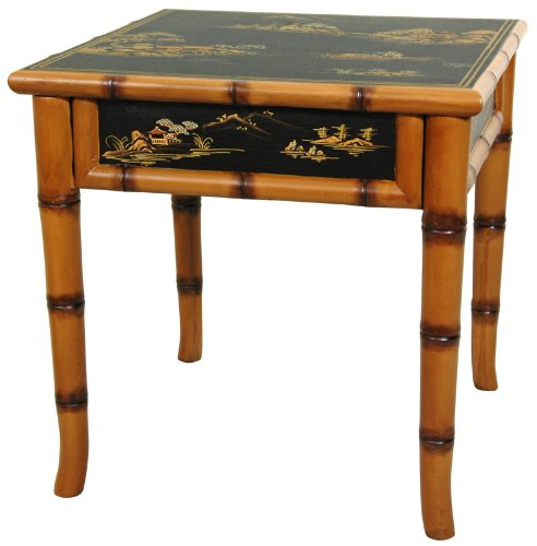Cheap Bamboo Coffee Table Ching Square Ming Table In Black
