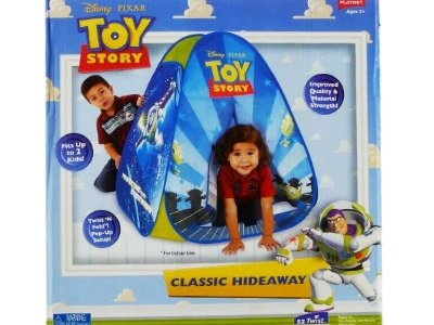 Disney Pixar Toy Story 3 Play Hut Classic Hideaway Tent Ez Twist