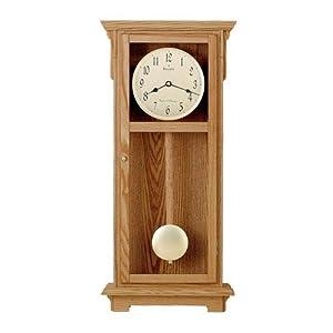 bulova cortland chiming wall clock wall