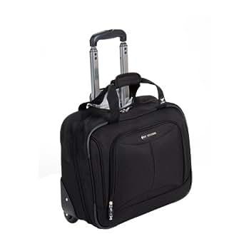 "Delsey Luggage Helium Fusion 3.0 Trolley Bag, Black, 17""x6.5""x13"""
