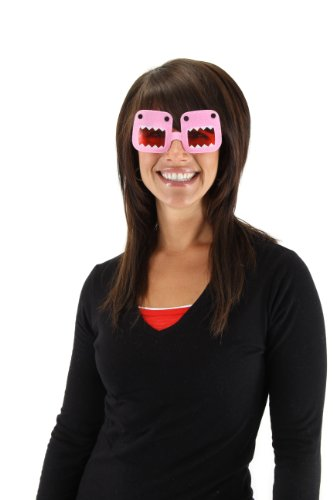 elope Domo Glasses, Pink, One Size - 1