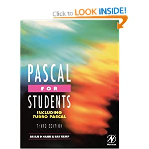 Pascal for Students: Including Turbo Pascal